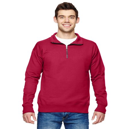 Hanes Men's Nano Premium Lightweight Quarter Zip Jacket, Style N290