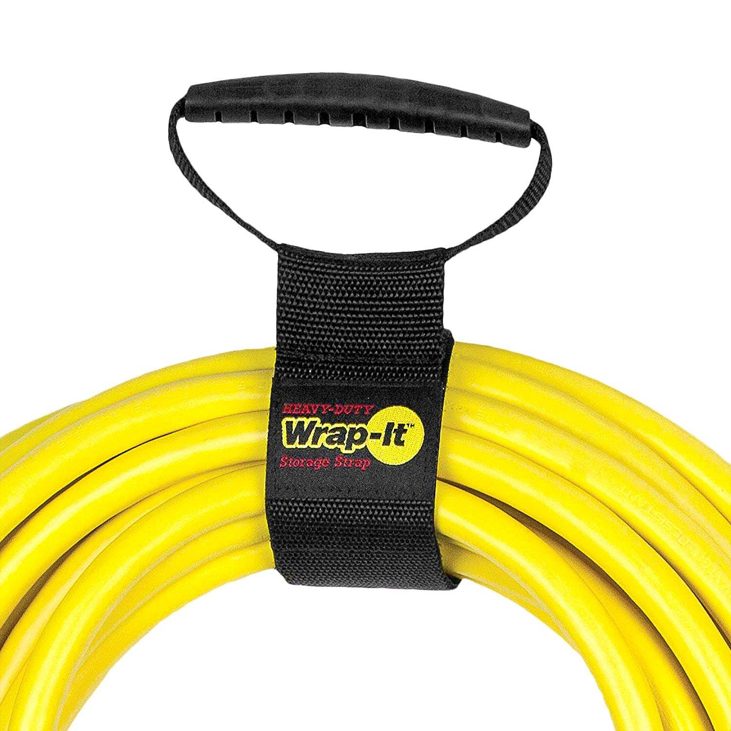 Hoses RV and Camping Organization Wrap-It Heavy-Duty Storage Straps Marine Boat 10 Medium - 6 Pack - Hook and Loop Organizer Hanger for Extension Cords Home Shop Cables and Rope for Garage