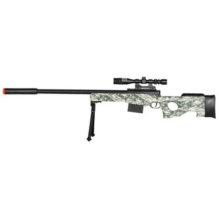 UK Arms Airsoft Rifle Gun - 37 3/4 Inch Length -DIGI CAMO - 300 (Best Ar 10 Sniper Rifle)