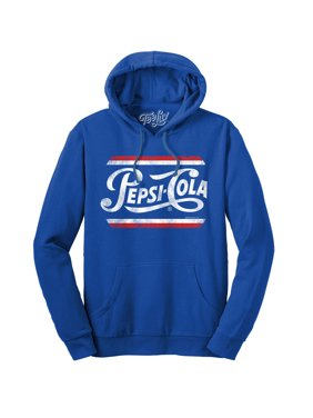 Tee Luv Hooded Pepsi Sweatshirt - French Terry Pepsi Hoodie