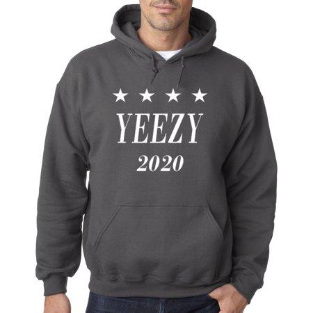 1009 - Hoodie Yeezy 2020 Kanye West President Election Sweatshirt (Look Like Kanye West Halloween)