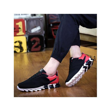 1a4d8ec03b Fashion Mens Running Sports Shoes Athletic Sneakers Outdoor Casual  Breathable Canvas Shoes - Walmart.com