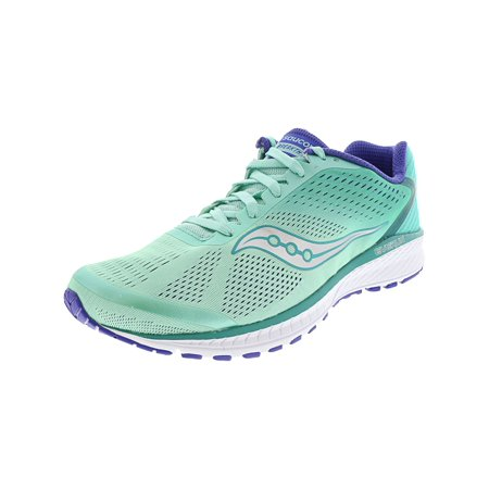 - Saucony Women's Breakthru 4 Aqua / Violet Ankle-High Running Shoe - 8M