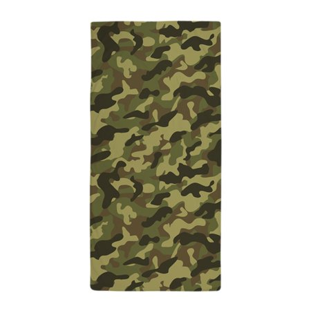 CafePress - Army Camouflage - Large Beach Towel, Soft 30