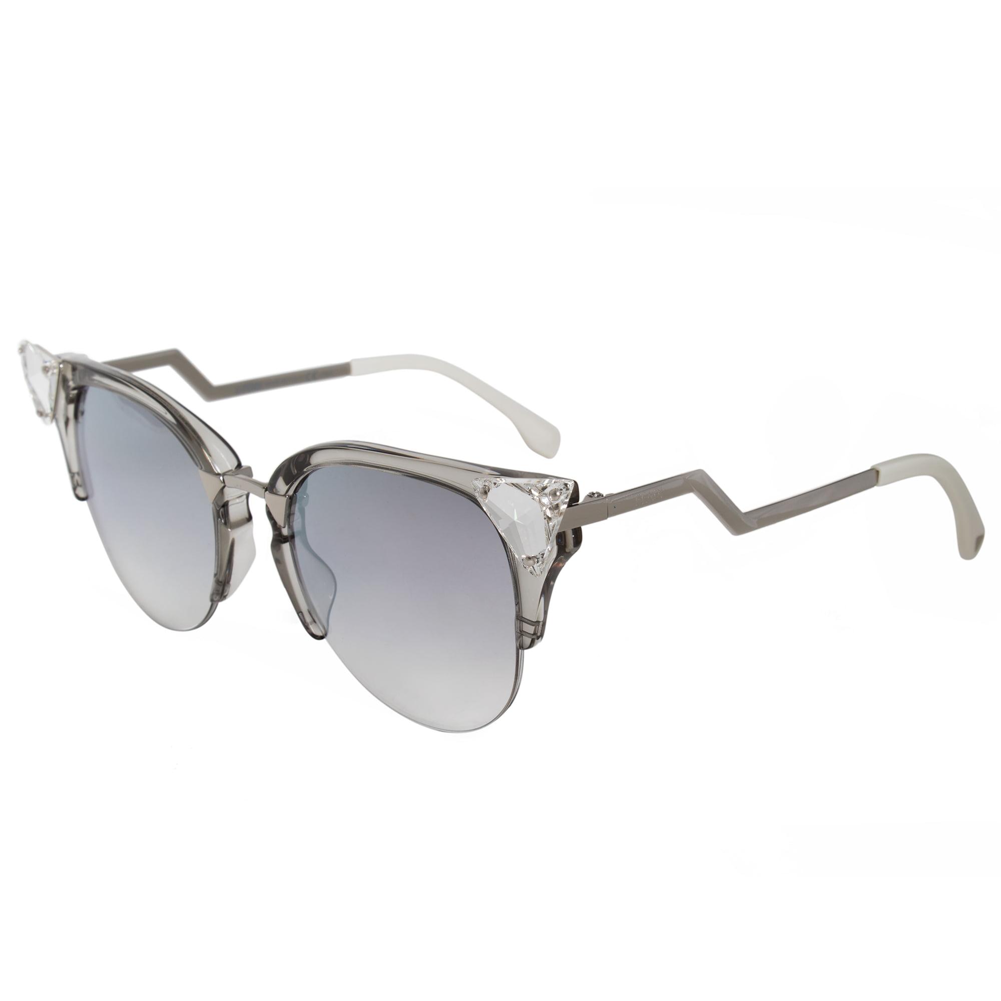 401fe56631859 Fendi - Fendi Iridia Cat Eye Sunglasses FF0041S 27C FU 52 - Walmart.com