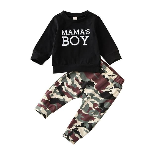 Mama/'s Boy T-Shirt and Pants Set