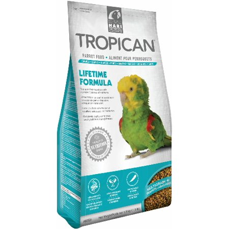 Tropican Lifetime Formula Granules Parrot Food 4mm, 4lb