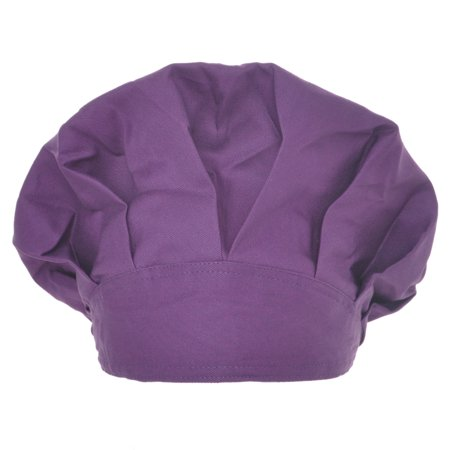 - Opromo Long Hair Bouffant Scrub Cap Bouffant Scrub Hat with Sweatband Adjustable-Purple
