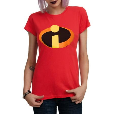 The Incredibles Symbol Junior Girls T-Shirt