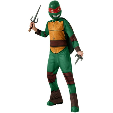 Boy's Teenage Mutant Ninja Turtles Raphael Costume (Ninja Costume With Weapons)