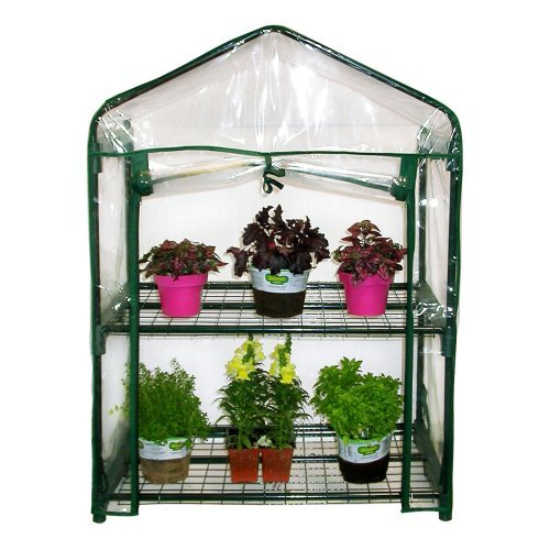 Alpine 2 Tier Growing Rack Greenhouse