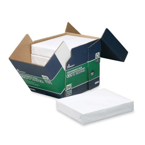"Skilcraft Copy Paper, Ream Wrapped, 92 Brt, 20lb,8-1/2""x11"", 5/BX, WE 5623259"