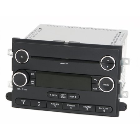 2010 Ford Explorer Mountaineer Radio AM FM Single Disc CD Player AL2T-18C869-AC -