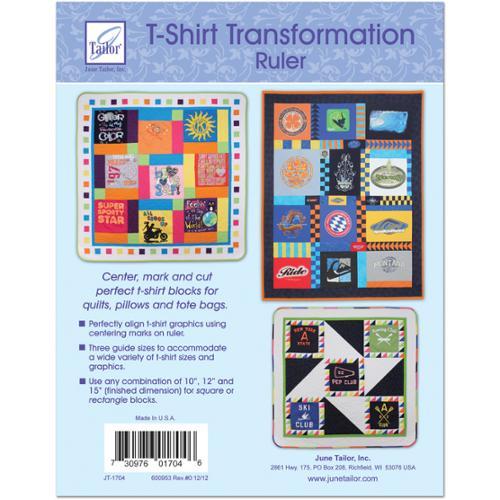 "T-Shirt Transformation Ruler-15-1/2""X15-1/2"""