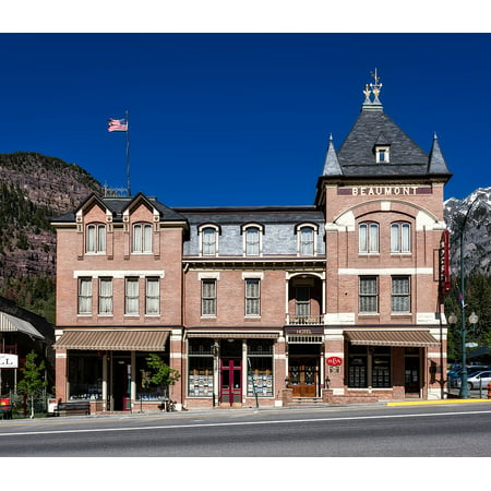 LAMINATED POSTER City Ouray Town Colorado Urban Beaumont Hotel Poster Print 24 x - Party City Beaumont