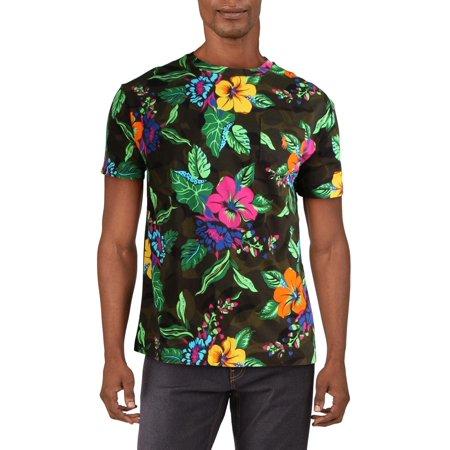 Polo Ralph Lauren Mens Cotton Floral T-Shirt