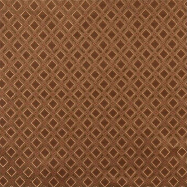 Designer Fabrics E633 54 inch Wide Diamond Green, Brown And Gold Damask Upholstery And Window Treatment Fabric
