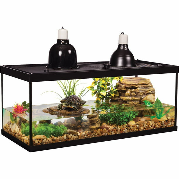 Tetrafauna 20 Gallon Deluxe Aquatic Turtle Tank Starter Kit