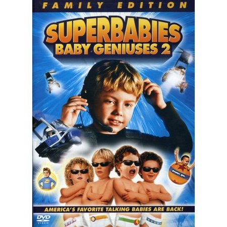 Superbabies: Baby Geniuses 2 (DVD) (The Trouble With Geniuses Part 2 Summary)