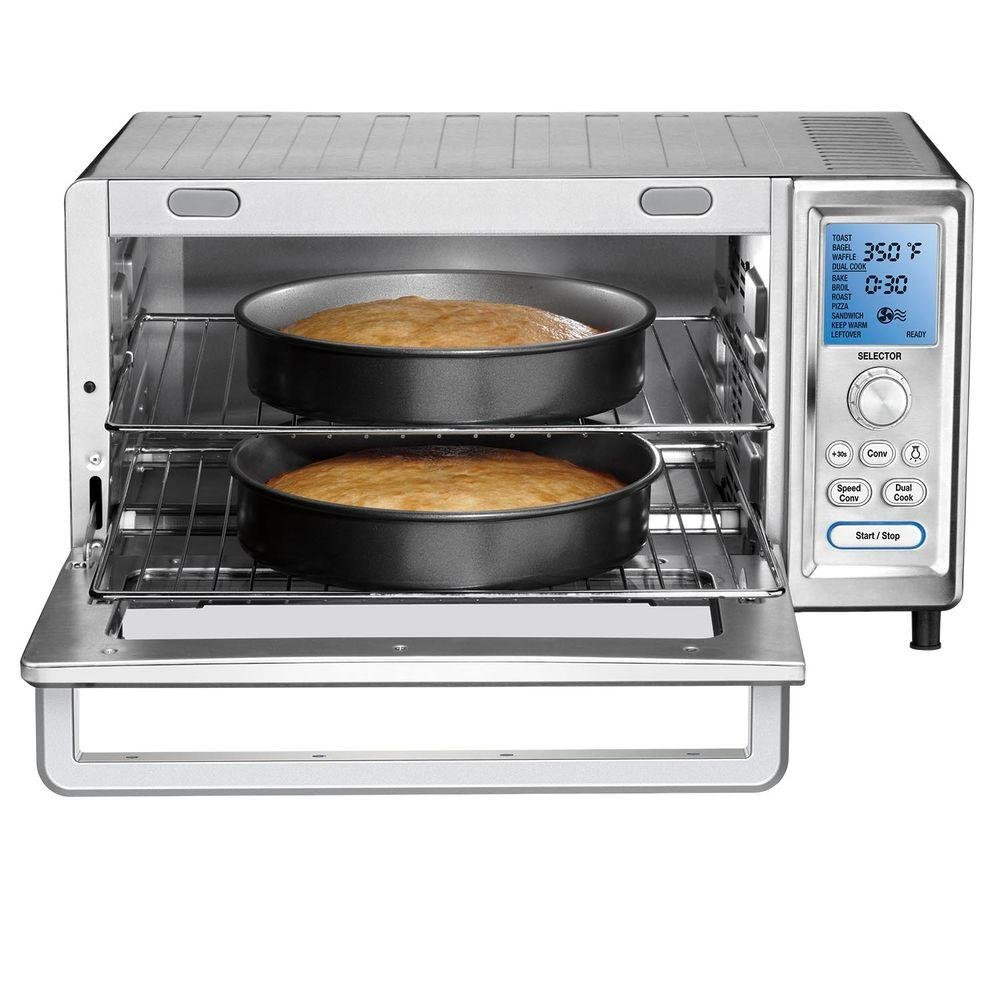 Cuisinart Chef's Toaster Convection Oven - 0.95 Ft Capacity - 1875 W - Toast, Bagel, Bake, Broil - Silver (tob-260n)