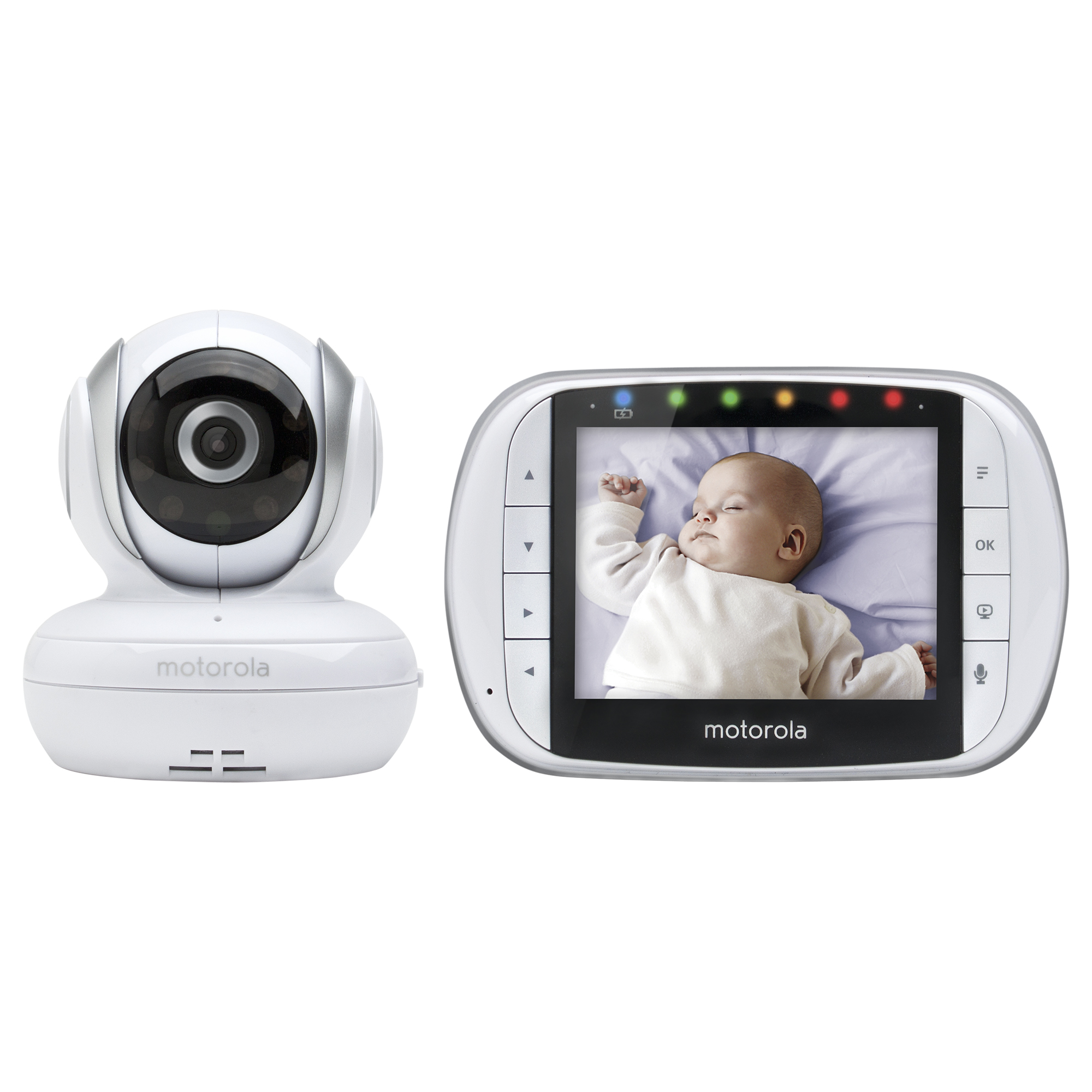 "Motorola MBP33XL, Video Baby Monitor, 3.5"" Monitor"