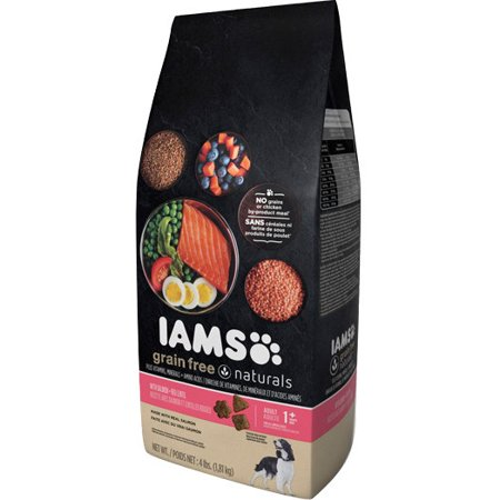 Iams Grain-Free Naturals Salmon and Red Lentils Dry Dog Food, 17.2 lb