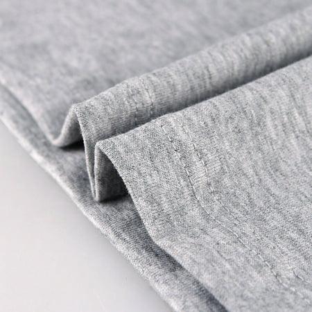 AOELEMENC 089 Men Cotton Vest Breathable Sleeveless O-neck Wide Shoulder Vest - image 3 of 9