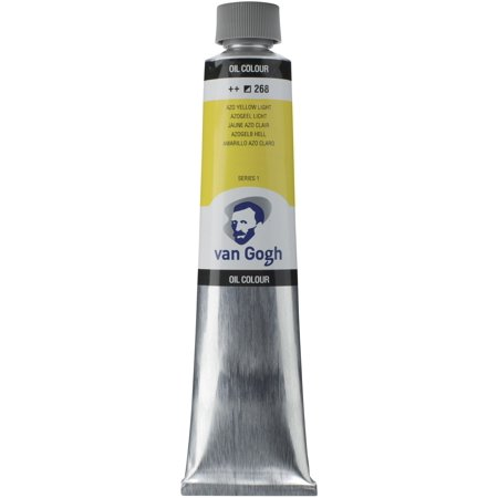 Van Gogh Oil Color, 200ml Tube, Azo Yellow Light