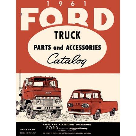 - Bishko OEM Repair Maintenance Parts Book Loose Leaf for Ford Truck All Models 1961