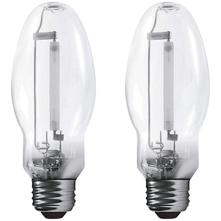 Luxrite LR20680 (2-Pack) LU35/ED17 35-Watt HID High Pressure Sodium Light Bulb, Warm White 2100K, 2250 Lumens, E26 medium base 250w High Pressure Sodium