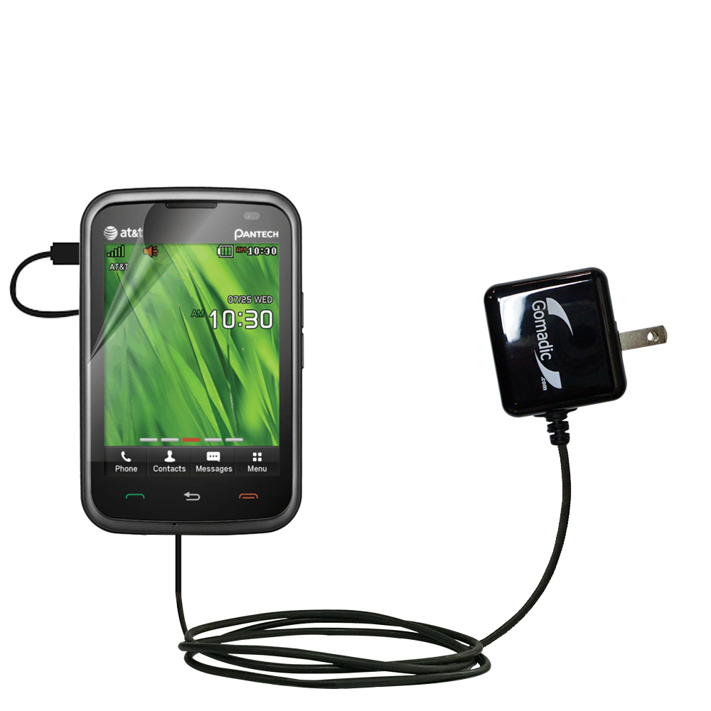 Gomadic Intelligent Compact Ac Home Wall Charger Suitable For The