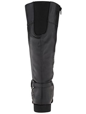 e68932995a2 Product Image LifeStride Womens Marvelous Quilted Faux Leather Riding Boots