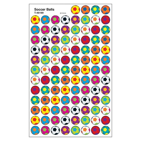 SOCCER BALLS SUPERSPOTS STICKERS - Soccer Stickers