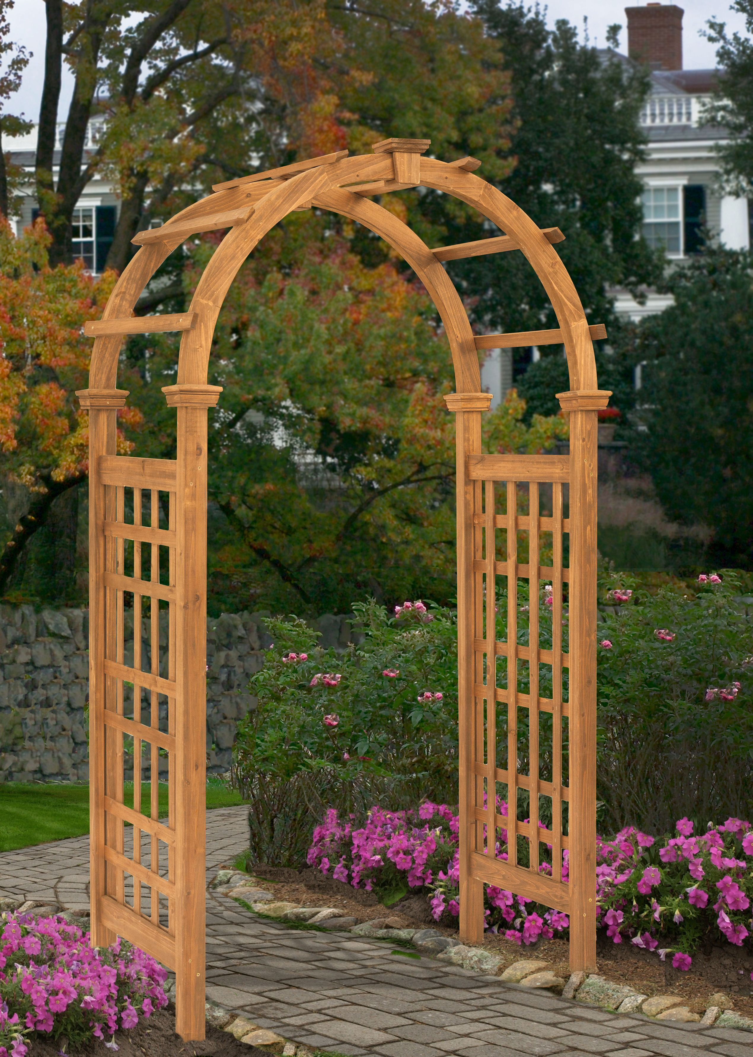 Rosewood Arbor by Arbors
