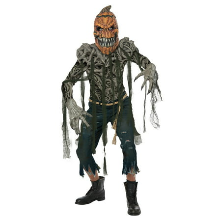Pumpkin Creature Men Halloween Costume](Painting Halloween Pumpkin Ideas)