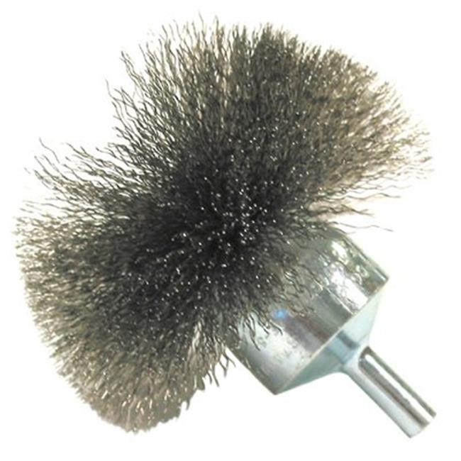 Anderson Brush 066-06031 Nf30 3 Inch Circular Flaredend Brush .006 Carbon