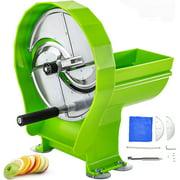 VEVOR Fruit Vegetable Slicer Cutter Machine Scallion Onion Chopper Shredder 3PCS/time