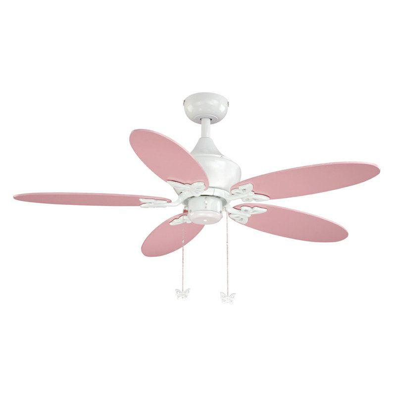 "AireRyder Angela 44"" White Fan"