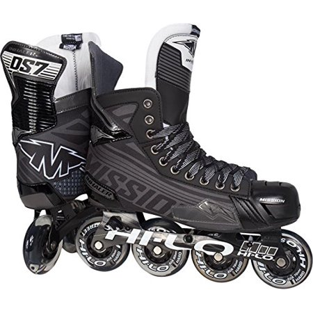 Mission Inhaler DS:7 Youth Inline Hockey Skates, 2.0 E by