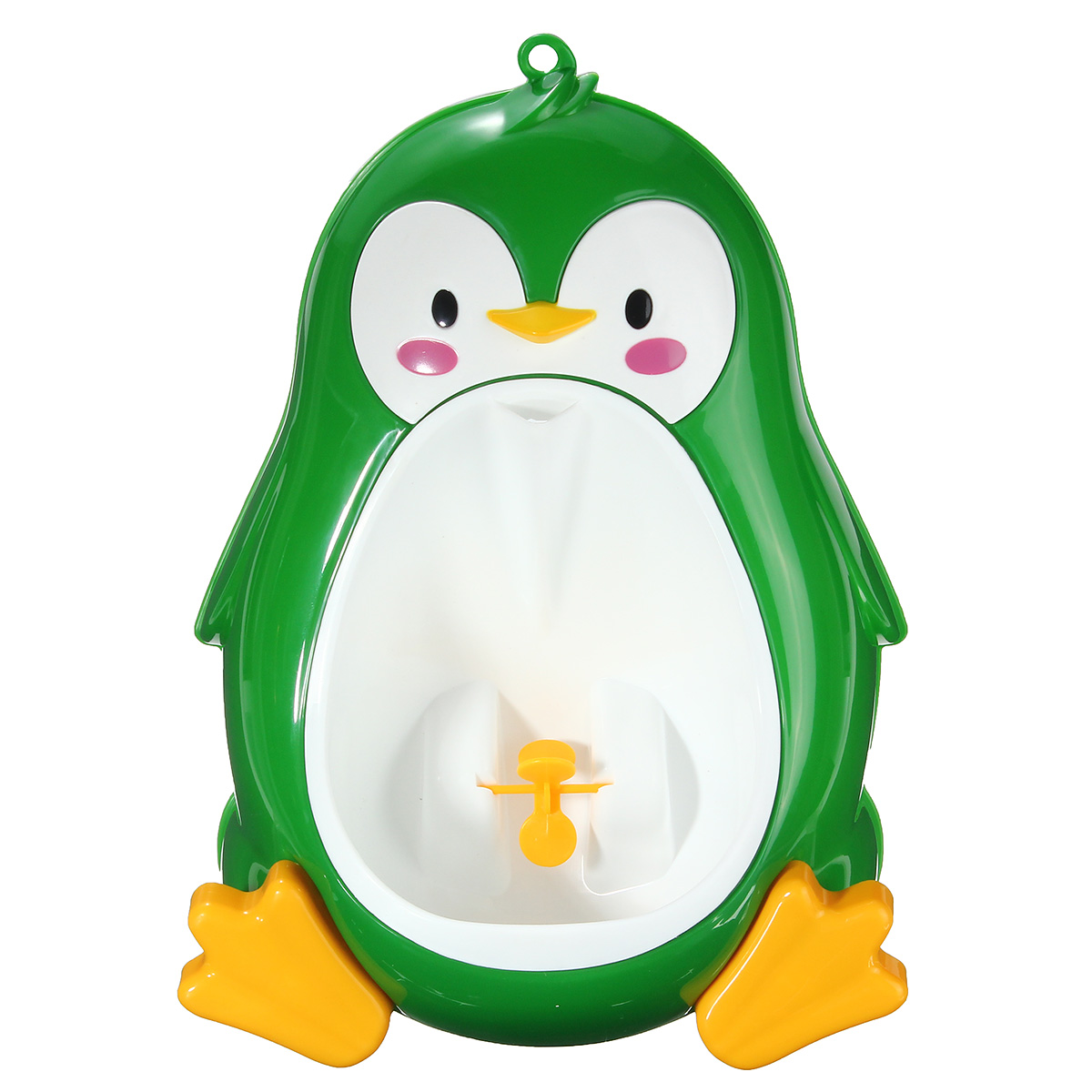Cute Kids Children Potty Training Urinal Toilet Urine Train Froggy Potty for Children Kids Toddler Baby Boys Portable Plastic Male Urinals Pee Trainer Funny Aiming Tar