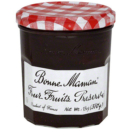 Bonne Maman Four Fruits Preserves, 13 oz (Pack of 6) by Generic