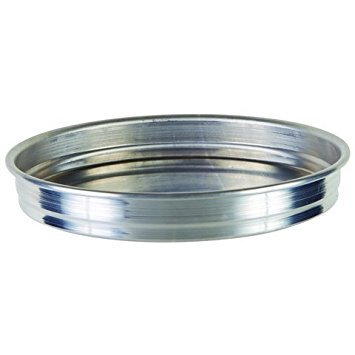 """Winco APZK-1215, 12""""x1.5"""" Aluminum Stackable Deep Pizza Pan, Pizza Commercial Deep Dish with Rims"""