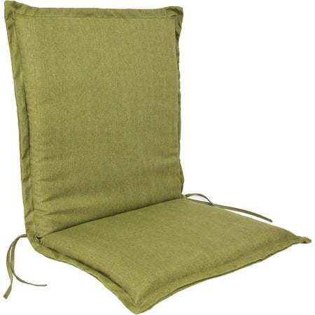 Jordan Manufacturing Outdoor Flanged Chair Cushion Multiple Colors