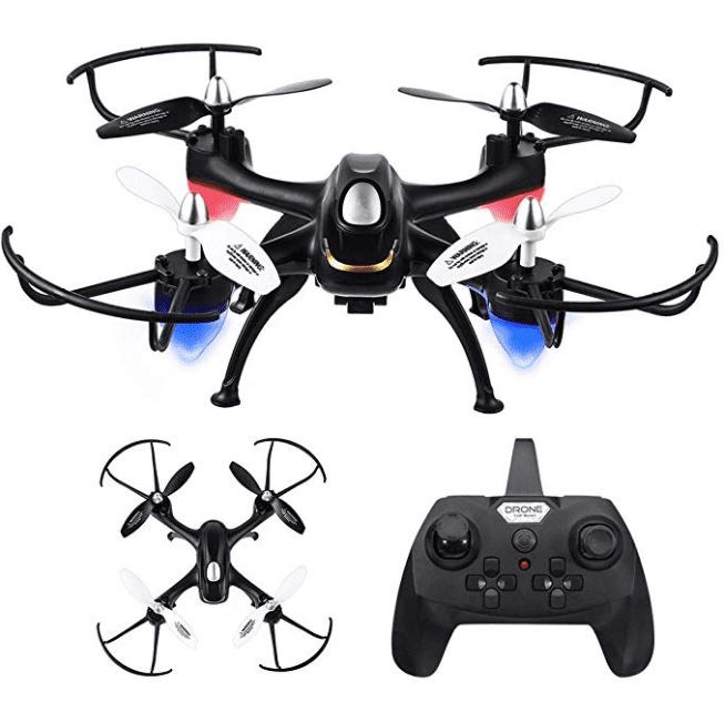 Eachine E33C RC Drone Quadcopter 2.4G 6CH 2MP HD Camera Night Flight Headless Mode Christmas Gift