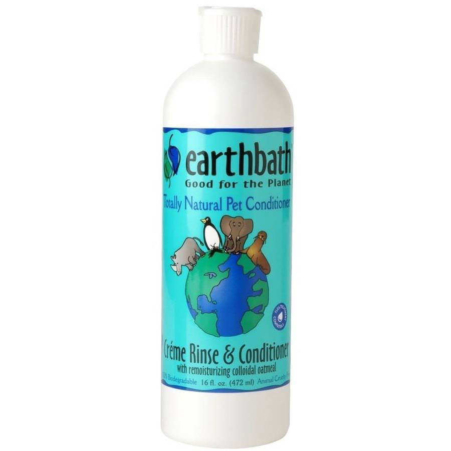 Earthbath Natural Pet Creme Rinse & Conditioner,, 16 oz