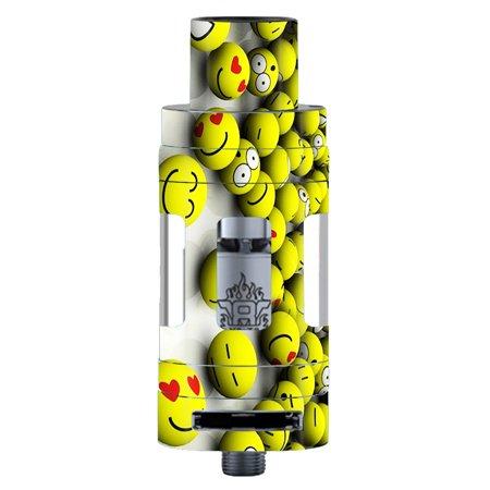 Skin Decal For Smok Tfv8 Tank Vape Mod / Tennis Balls Happy - Happy Balls