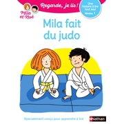 Regarde, je lis - Lecture CP Niveau 1 - Mila fait du judo - Dès 5 ans - eBook