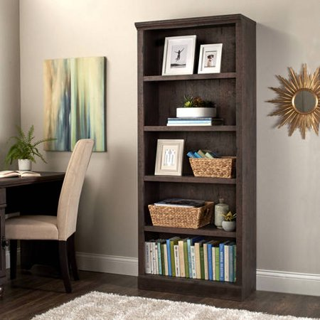 Better homes and gardens crossmill 5 shelf bookcase - Better homes and gardens bookshelf ...