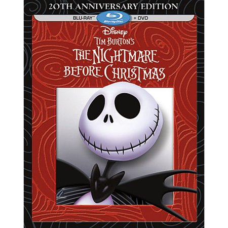 Tim Burton's The Nightmare Before Christmas (20th Anniversary Edition) (Blu-ray + DVD) - Halloween Song Nightmare Christmas