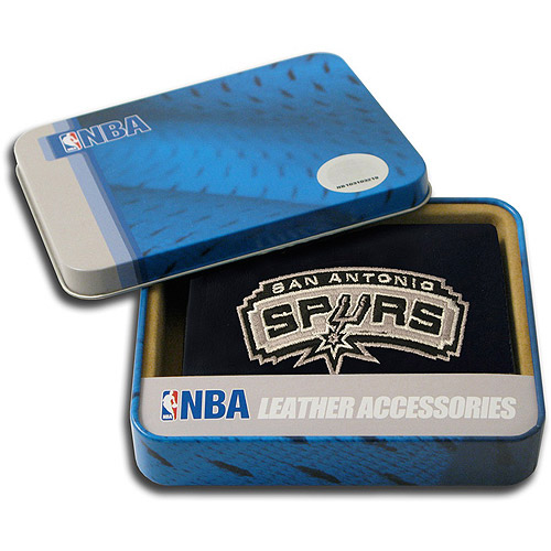 NBA - Men's San Antonio Spurs Embroidered Trifold Wallet